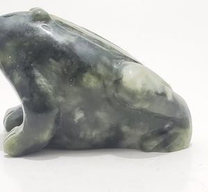 Shop Raw & Rough Jade Stones! Hand Carved Jade Frog Collectors Specimen, Decorative Great For Frog Lover, Handmade Frog Sculpture, Hand Carved Natural Green Jade | Natural genuine stones & crystals in various shapes & sizes. Buy raw cut, tumbled, or polished gemstones for making jewelry or crystal healing energy vibration raising reiki stones. #crystals #gemstones #crystalhealing #crystalsandgemstones #energyhealing #affiliate #ad