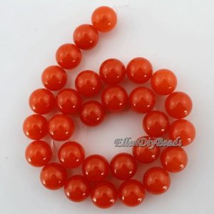 High Quality 14mm Round Orange Jade Beads,One Full Strand,Orange Stone,Round Jade,Gemstone Beads–about 28 Pieces-15.5 inches–BJ021   Natural genuine round Gemstone beads for beading and jewelry making.  #jewelry #beads #beadedjewelry #diyjewelry #jewelrymaking #beadstore #beading #affiliate #ad