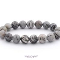 10mm Picasso Jasper Bracelet, Picasso Jasper Bracelets 10 Mm, Stretch Jasper Bracelets, Picasso Jasper Bead Bracelet, Ladiescrystals | Natural genuine Gemstone jewelry. Buy crystal jewelry, handmade handcrafted artisan jewelry for women.  Unique handmade gift ideas. #jewelry #beadedjewelry #beadedjewelry #gift #shopping #handmadejewelry #fashion #style #product #jewelry #affiliate #ad