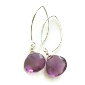 Shop Kunzite Jewelry! Kunzite Earrings Quartz Earrings Gemstone Earrings Healing Earrings Kunzite Gemstone | Natural genuine Kunzite jewelry. Buy crystal jewelry, handmade handcrafted artisan jewelry for women.  Unique handmade gift ideas. #jewelry #beadedjewelry #beadedjewelry #gift #shopping #handmadejewelry #fashion #style #product #jewelry #affiliate #ad
