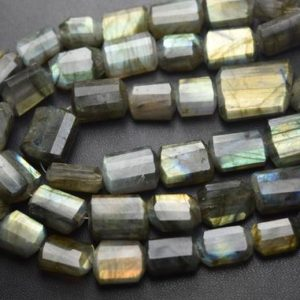 Shop Labradorite Chip & Nugget Beads! 14 Inches Strand,Natural Labradorite Faceted Step Cut Nuggets  Shape Size 12-16mm | Natural genuine chip Labradorite beads for beading and jewelry making.  #jewelry #beads #beadedjewelry #diyjewelry #jewelrymaking #beadstore #beading #affiliate #ad
