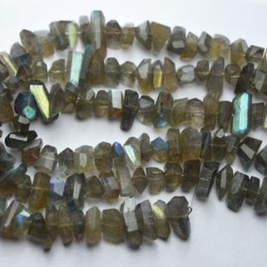 Shop Labradorite Chip & Nugget Beads! 7 Inch Strand,Natural Labradorite Faceted Fancy Nuggets  Shape Size 7-8mm | Natural genuine chip Labradorite beads for beading and jewelry making.  #jewelry #beads #beadedjewelry #diyjewelry #jewelrymaking #beadstore #beading #affiliate #ad