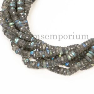 Shop Labradorite Faceted Beads! Labradorite Faceted Tyre Beads, Labradorite Faceted Beads, Labradorite Tyre Beads, Labradorite Beads, Gemstone Tyre Beads | Natural genuine faceted Labradorite beads for beading and jewelry making.  #jewelry #beads #beadedjewelry #diyjewelry #jewelrymaking #beadstore #beading #affiliate #ad