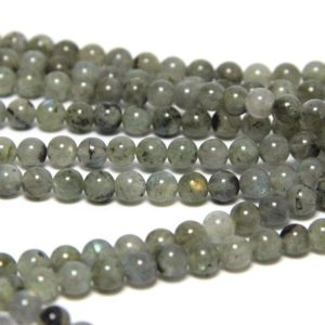 Shop Labradorite Bead Shapes! Gray Labradorite Beads 6mm 8mm Natural Gray Gemstone Beads Genuine Labradorite Blue Flash Gray Mala Beads Labradorite | Natural genuine other-shape Labradorite beads for beading and jewelry making.  #jewelry #beads #beadedjewelry #diyjewelry #jewelrymaking #beadstore #beading #affiliate #ad