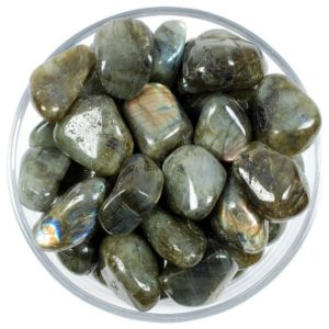 Shop Tumbled Labradorite Crystals & Pocket Stones! One 1 Labradorite Tumbled Stone, Labradorite Tumbled Stones, Labradorite Tumbled Stone, Tumbled Labradorite Stones, Healing Labradorite | Natural genuine stones & crystals in various shapes & sizes. Buy raw cut, tumbled, or polished gemstones for making jewelry or crystal healing energy vibration raising reiki stones. #crystals #gemstones #crystalhealing #crystalsandgemstones #energyhealing #affiliate #ad