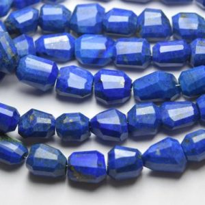 Shop Lapis Lazuli Chip & Nugget Beads! 8 Inch Strand,Natural Lapis Lazuli Faceted Nuggets Shape,Size 14-16mm | Natural genuine chip Lapis Lazuli beads for beading and jewelry making.  #jewelry #beads #beadedjewelry #diyjewelry #jewelrymaking #beadstore #beading #affiliate #ad