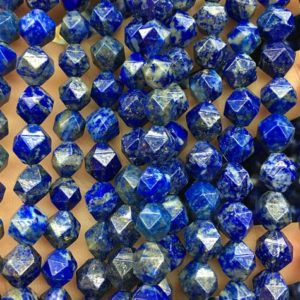 Shop Lapis Lazuli Chip & Nugget Beads! Lapis Lazuli Beads, Natural Gemstone Beads, Nugget Stone Beads, Faceted Beads 8mm 10mm 15'' | Natural genuine chip Lapis Lazuli beads for beading and jewelry making.  #jewelry #beads #beadedjewelry #diyjewelry #jewelrymaking #beadstore #beading #affiliate #ad