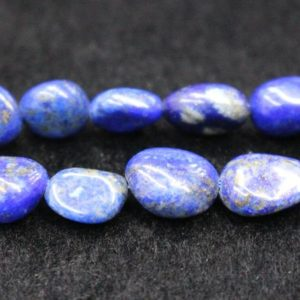 "Shop Lapis Lazuli Chip & Nugget Beads! Natural Lapis Lazuli Chip Beads,Chip beads,6x8mm 8x10mm Natural Lapis Lazuli Chip Nugget Beads,one strand 15"",Lapis Lazuli Beads. 