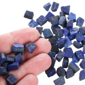 Shop Raw & Rough Lapis Lazuli Stones! Small Raw Lapis Pieces, Rough Lapis, Genuine Lapis Crystal, Healing Crystal, Bulk Raw Gemstone, SLapis001 | Natural genuine stones & crystals in various shapes & sizes. Buy raw cut, tumbled, or polished gemstones for making jewelry or crystal healing energy vibration raising reiki stones. #crystals #gemstones #crystalhealing #crystalsandgemstones #energyhealing #affiliate #ad