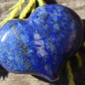 Shop Lapis Lazuli Shapes! Lapis Puffy Heart Pocket, Worry Healing Stone with Positive Healing Energy! | Natural genuine stones & crystals in various shapes & sizes. Buy raw cut, tumbled, or polished gemstones for making jewelry or crystal healing energy vibration raising reiki stones. #crystals #gemstones #crystalhealing #crystalsandgemstones #energyhealing #affiliate #ad