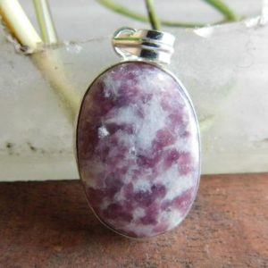 Shop Lepidolite Pendants! Lepidolite pendant* sterling silver pendant* oval pendant*Lepidolite jewelry*Lepidolite necklace*pendant for necklace*stone pendant*PP102 | Natural genuine Lepidolite pendants. Buy crystal jewelry, handmade handcrafted artisan jewelry for women.  Unique handmade gift ideas. #jewelry #beadedpendants #beadedjewelry #gift #shopping #handmadejewelry #fashion #style #product #pendants #affiliate #ad