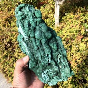 Shop Raw & Rough Malachite Stones! 5.6LB TOP Quality Natural Botryoidal Malachite Mineral Specimen,Raw Green Malachite Cluster,Large Malachite,Wife Happiness,Christmas Gift | Natural genuine stones & crystals in various shapes & sizes. Buy raw cut, tumbled, or polished gemstones for making jewelry or crystal healing energy vibration raising reiki stones. #crystals #gemstones #crystalhealing #crystalsandgemstones #energyhealing #affiliate #ad