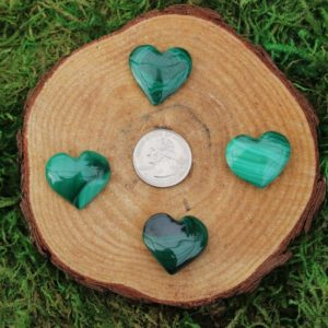 Shop Malachite Shapes! Malachite Polished Hearts A-J | Natural genuine stones & crystals in various shapes & sizes. Buy raw cut, tumbled, or polished gemstones for making jewelry or crystal healing energy vibration raising reiki stones. #crystals #gemstones #crystalhealing #crystalsandgemstones #energyhealing #affiliate #ad