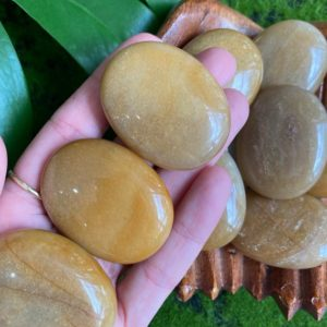Shop Moonstone Shapes! Golden Moonstone palmstone, palm stone | Natural genuine stones & crystals in various shapes & sizes. Buy raw cut, tumbled, or polished gemstones for making jewelry or crystal healing energy vibration raising reiki stones. #crystals #gemstones #crystalhealing #crystalsandgemstones #energyhealing #affiliate #ad