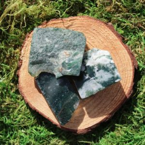 Shop Moss Agate Shapes! Green Moss Agate Free Form Polished Pieces | Natural genuine stones & crystals in various shapes & sizes. Buy raw cut, tumbled, or polished gemstones for making jewelry or crystal healing energy vibration raising reiki stones. #crystals #gemstones #crystalhealing #crystalsandgemstones #energyhealing #affiliate #ad