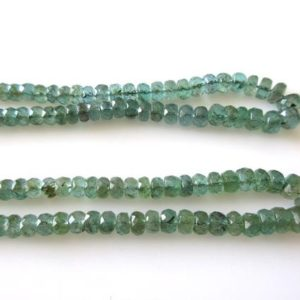 Shop Emerald Rondelle Beads! Natural Emerald Faceted Rondelle Beads, Faceted Emerald Beads, 3mm To 5mm Green Emerald Beads, Emerald Gemstone Beads, GDS1149 | Natural genuine rondelle Emerald beads for beading and jewelry making.  #jewelry #beads #beadedjewelry #diyjewelry #jewelrymaking #beadstore #beading #affiliate #ad
