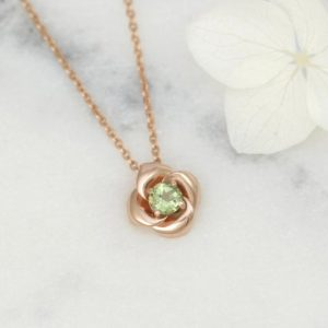 Shop Green Tourmaline Necklaces! Genuine Pink Tourmaline necklace, Genuine Green Tourmaline necklace, flower necklace, 14k solid gold necklace for woman | Natural genuine Green Tourmaline necklaces. Buy crystal jewelry, handmade handcrafted artisan jewelry for women.  Unique handmade gift ideas. #jewelry #beadednecklaces #beadedjewelry #gift #shopping #handmadejewelry #fashion #style #product #necklaces #affiliate #ad