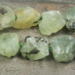 Shop Prehnite Beads! natural prehnite rough gemstone – free form nugget beads – pale green nuggets – gemstone charms wholesale -rough gemstones wholesale -15inch | Natural genuine beads Prehnite beads for beading and jewelry making.  #jewelry #beads #beadedjewelry #diyjewelry #jewelrymaking #beadstore #beading #affiliate #ad