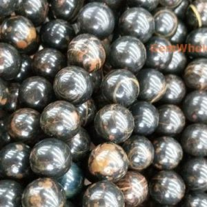 """Shop Obsidian Beads! 15.5"""" 4mm/6mm/8mm Natural brown obsidian, Black brown obsidian DIY round beads,natural stone beads   Natural genuine beads Obsidian beads for beading and jewelry making.  #jewelry #beads #beadedjewelry #diyjewelry #jewelrymaking #beadstore #beading #affiliate #ad"""