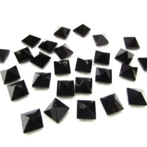 Shop Onyx Shapes! 10mm Black Onyx Pyramid Square Gemstone… Black Onyx Square Pyramid Gemstone | Natural genuine stones & crystals in various shapes & sizes. Buy raw cut, tumbled, or polished gemstones for making jewelry or crystal healing energy vibration raising reiki stones. #crystals #gemstones #crystalhealing #crystalsandgemstones #energyhealing #affiliate #ad