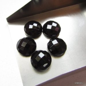 Shop Onyx Shapes! 11mm Black Onyx Round Checker Faceted Flat Stone Aaa Quality Gemstone… Nice Quality Black Onyx Faceted Round Checker Flat Gemstone | Natural genuine stones & crystals in various shapes & sizes. Buy raw cut, tumbled, or polished gemstones for making jewelry or crystal healing energy vibration raising reiki stones. #crystals #gemstones #crystalhealing #crystalsandgemstones #energyhealing #affiliate #ad