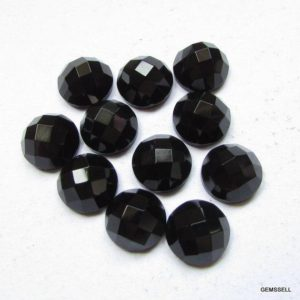 Shop Onyx Shapes! 14mm Black Onyx Round Faceted Checker Flat Gemstone, Black Onyx Faceted Round Checker Faceted Flat Stone Aaa Quality Gemstone… | Natural genuine stones & crystals in various shapes & sizes. Buy raw cut, tumbled, or polished gemstones for making jewelry or crystal healing energy vibration raising reiki stones. #crystals #gemstones #crystalhealing #crystalsandgemstones #energyhealing #affiliate #ad