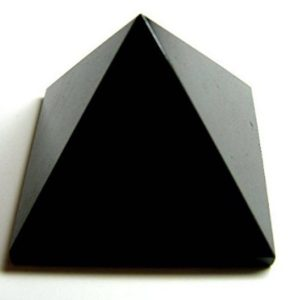 Charged Black Onyx Energy Pyramid Reiki Chakra Balancer Healing Gemstone Pyramid Root Chakra Pyramid Gemstone Pyramid Orgone Approx. 1.5-2"