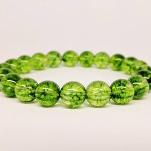 Shop Peridot Bracelets! Natural Peridot Bracelet, Chrysolite Bracelet, Natural Gemstone Bracelet, Unisex Women Men Beaded Bracelet, August Birthstone, Gift for Her | Natural genuine Peridot bracelets. Buy crystal jewelry, handmade handcrafted artisan jewelry for women.  Unique handmade gift ideas. #jewelry #beadedbracelets #beadedjewelry #gift #shopping #handmadejewelry #fashion #style #product #bracelets #affiliate #ad