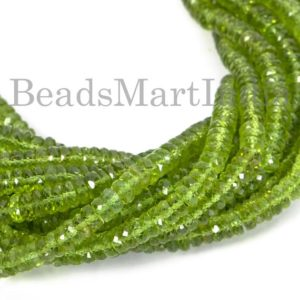 Shop Peridot Faceted Beads! Peridot Faceted Tyre Shape Gemstone Beads, Peridot Faceted Beads, Peridot Beads, Peridot Tyre Shape Natural Beads, Peridot Gemstone Beads | Natural genuine faceted Peridot beads for beading and jewelry making.  #jewelry #beads #beadedjewelry #diyjewelry #jewelrymaking #beadstore #beading #affiliate #ad