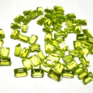 Shop Peridot Stones & Crystals! 10 pieces 4x6mm Peridot Faceted Octagon Gemstone, Peridot Octagon Faceted Loose Gemstone, Green Peridot Faceted Octagon Gemstone | Natural genuine stones & crystals in various shapes & sizes. Buy raw cut, tumbled, or polished gemstones for making jewelry or crystal healing energy vibration raising reiki stones. #crystals #gemstones #crystalhealing #crystalsandgemstones #energyhealing #affiliate #ad