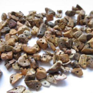 Shop Picture Jasper Chip & Nugget Beads! Picture Jasper Chip Beads – Natural Gemstone Beads – Raw Natural Stones with Holes | Natural genuine chip Picture Jasper beads for beading and jewelry making.  #jewelry #beads #beadedjewelry #diyjewelry #jewelrymaking #beadstore #beading #affiliate #ad