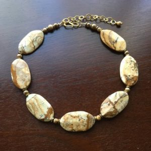 Shop Picture Jasper Necklaces! Picture Jasper Necklace, Free Shipping | Natural genuine Picture Jasper necklaces. Buy crystal jewelry, handmade handcrafted artisan jewelry for women.  Unique handmade gift ideas. #jewelry #beadednecklaces #beadedjewelry #gift #shopping #handmadejewelry #fashion #style #product #necklaces #affiliate #ad