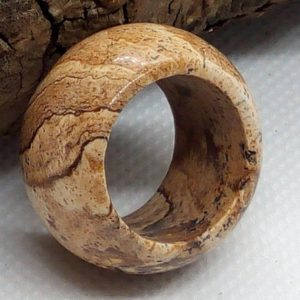 Shop Picture Jasper Rings! Picture Jasper stone ring | Jasper band ring | Natural stone ring | Mens stone ring | Brown stone ring | Natural genuine Picture Jasper mens fashion rings, simple unique handcrafted gemstone men's rings, gifts for men. Anillos hombre. #rings #jewelry #crystaljewelry #gemstonejewelry #handmadejewelry #affiliate #ad