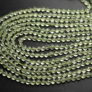 Shop Prehnite Faceted Beads! 13 Inch Strand,Finist Quality,Natural Prehnite Faceted Coins Shaped Beads. Size 4mm | Natural genuine faceted Prehnite beads for beading and jewelry making.  #jewelry #beads #beadedjewelry #diyjewelry #jewelrymaking #beadstore #beading #affiliate #ad