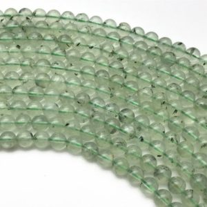 Shop Prehnite Round Beads! 6mm Natural Prehnite Beads, Round Gemstone Beads, Wholesale Beads | Natural genuine round Prehnite beads for beading and jewelry making.  #jewelry #beads #beadedjewelry #diyjewelry #jewelrymaking #beadstore #beading #affiliate #ad