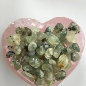 Shop Tumbled Prehnite Crystals & Pocket Stones! 20g of Prehnite Mini tumbled stones, Tumbled Prehnite, Prehnite | Natural genuine stones & crystals in various shapes & sizes. Buy raw cut, tumbled, or polished gemstones for making jewelry or crystal healing energy vibration raising reiki stones. #crystals #gemstones #crystalhealing #crystalsandgemstones #energyhealing #affiliate #ad