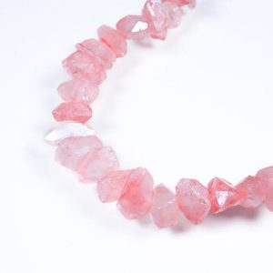 Shop Quartz Crystal Bead Shapes! Natural Crystal Quartz Point Beads.pink Crystal Quartz Point.bright Crystal Beads.high Quality Crystal Point Beads.center Drilled Beads. | Natural genuine other-shape Quartz beads for beading and jewelry making.  #jewelry #beads #beadedjewelry #diyjewelry #jewelrymaking #beadstore #beading #affiliate #ad