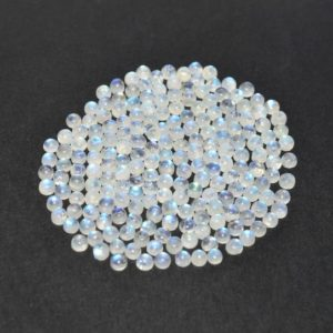 Shop Rainbow Moonstone Shapes! White Rainbow Moonstone 4 MM Round Shape Loose Gemstone | Natural genuine stones & crystals in various shapes & sizes. Buy raw cut, tumbled, or polished gemstones for making jewelry or crystal healing energy vibration raising reiki stones. #crystals #gemstones #crystalhealing #crystalsandgemstones #energyhealing #affiliate #ad