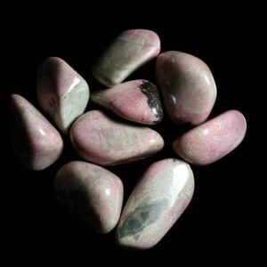 Shop Tumbled Rhodonite Crystals & Pocket Stones! Rhodonite Tumbled | Natural genuine stones & crystals in various shapes & sizes. Buy raw cut, tumbled, or polished gemstones for making jewelry or crystal healing energy vibration raising reiki stones. #crystals #gemstones #crystalhealing #crystalsandgemstones #energyhealing #affiliate #ad