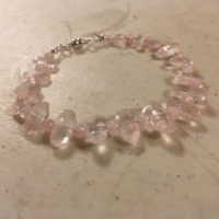 Pink Bracelet – Rose Quartz Jewellery – Gemstone – Sterling Silver Jewelry – Funky – Beaded | Natural genuine Gemstone jewelry. Buy crystal jewelry, handmade handcrafted artisan jewelry for women.  Unique handmade gift ideas. #jewelry #beadedjewelry #beadedjewelry #gift #shopping #handmadejewelry #fashion #style #product #jewelry #affiliate #ad