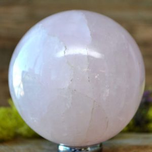 Shop Rose Quartz Shapes! Rose Quartz Crystal Sphere Ball –  1062.16   Natural genuine stones & crystals in various shapes & sizes. Buy raw cut, tumbled, or polished gemstones for making jewelry or crystal healing energy vibration raising reiki stones. #crystals #gemstones #crystalhealing #crystalsandgemstones #energyhealing #affiliate #ad