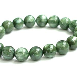 Shop Seraphinite Bracelets! Seraphinite Bracelet, 10mm Natural Genuine Not Treated, Not Dyed Color | Natural genuine Seraphinite bracelets. Buy crystal jewelry, handmade handcrafted artisan jewelry for women.  Unique handmade gift ideas. #jewelry #beadedbracelets #beadedjewelry #gift #shopping #handmadejewelry #fashion #style #product #bracelets #affiliate #ad