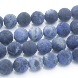 sodalite gemstone beads – blue sodalite stone beads for jewelry making – natural blue gemstone beads wholesale – 4-12mm round beads – 15inch | Natural genuine beads Array beads for beading and jewelry making.  #jewelry #beads #beadedjewelry #diyjewelry #jewelrymaking #beadstore #beading #affiliate #ad