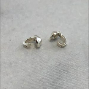 Shop Bead Tips & Knot Covers! Sterling Silver Bead Tip (Pkg of 10) (580S-01) | Shop jewelry making and beading supplies, tools & findings for DIY jewelry making and crafts. #jewelrymaking #diyjewelry #jewelrycrafts #jewelrysupplies #beading #affiliate #ad