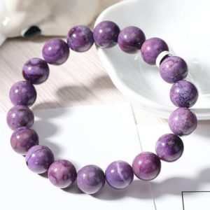 Shop Sugilite Bracelets! Fluorite Sugilite Symbiosis Bracelet Handmade Beaded Jewelry Natural Semi Precious Gemstone Chakra Healing Crystal Energy | Natural genuine Sugilite bracelets. Buy crystal jewelry, handmade handcrafted artisan jewelry for women.  Unique handmade gift ideas. #jewelry #beadedbracelets #beadedjewelry #gift #shopping #handmadejewelry #fashion #style #product #bracelets #affiliate #ad