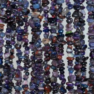 4mm-6mm Natural Sugilite Gemstone Purple Chips Pebble Loose Beads 16 inch Full Strand (90184070-360) | Natural genuine chip Sugilite beads for beading and jewelry making.  #jewelry #beads #beadedjewelry #diyjewelry #jewelrymaking #beadstore #beading #affiliate #ad