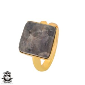 Shop Sugilite Rings! Size 10.5 – Size 12 Adjustable Sugilite 24K Gold Plated Ring GPR1106 | Natural genuine Sugilite rings, simple unique handcrafted gemstone rings. #rings #jewelry #shopping #gift #handmade #fashion #style #affiliate #ad