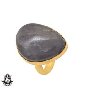 Shop Sugilite Rings! Size 8.5 – Size 10 Adjustable Sugilite 24K Gold Plated Ring GPR1099 | Natural genuine Sugilite rings, simple unique handcrafted gemstone rings. #rings #jewelry #shopping #gift #handmade #fashion #style #affiliate #ad
