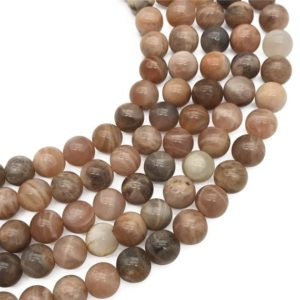 Shop Sunstone Round Beads! 10mm Natural Sunstone Beads, Round Gemstone Beads, Wholesale Beads | Natural genuine round Sunstone beads for beading and jewelry making.  #jewelry #beads #beadedjewelry #diyjewelry #jewelrymaking #beadstore #beading #affiliate #ad
