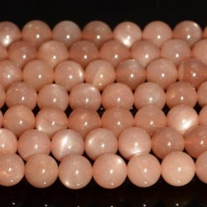 Shop Sunstone Round Beads! 8mm Orange Sunstone Gemstone Grade AAA Round Loose Beads 7.5 inch Half Strand LOT 1,2,6,12 and 50 (90188959-91) | Natural genuine round Sunstone beads for beading and jewelry making.  #jewelry #beads #beadedjewelry #diyjewelry #jewelrymaking #beadstore #beading #affiliate #ad